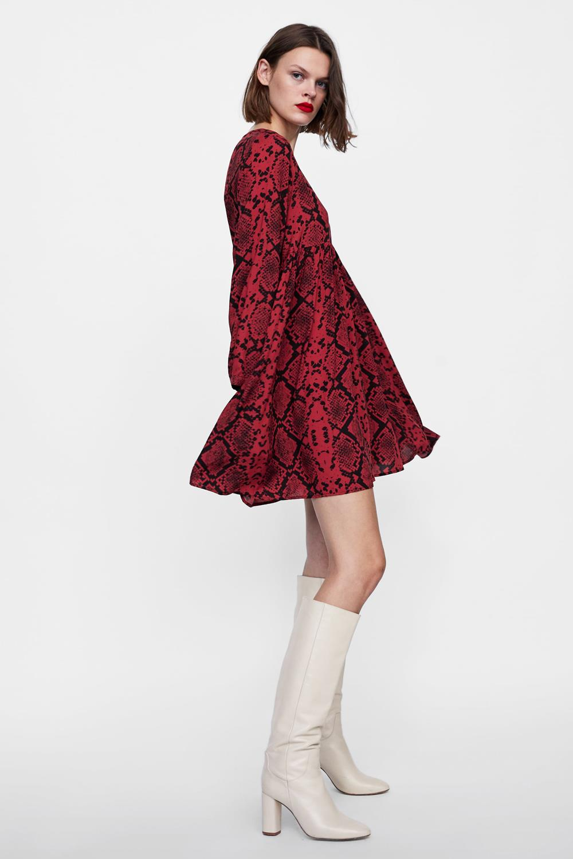 Blanca suarez vestido zara