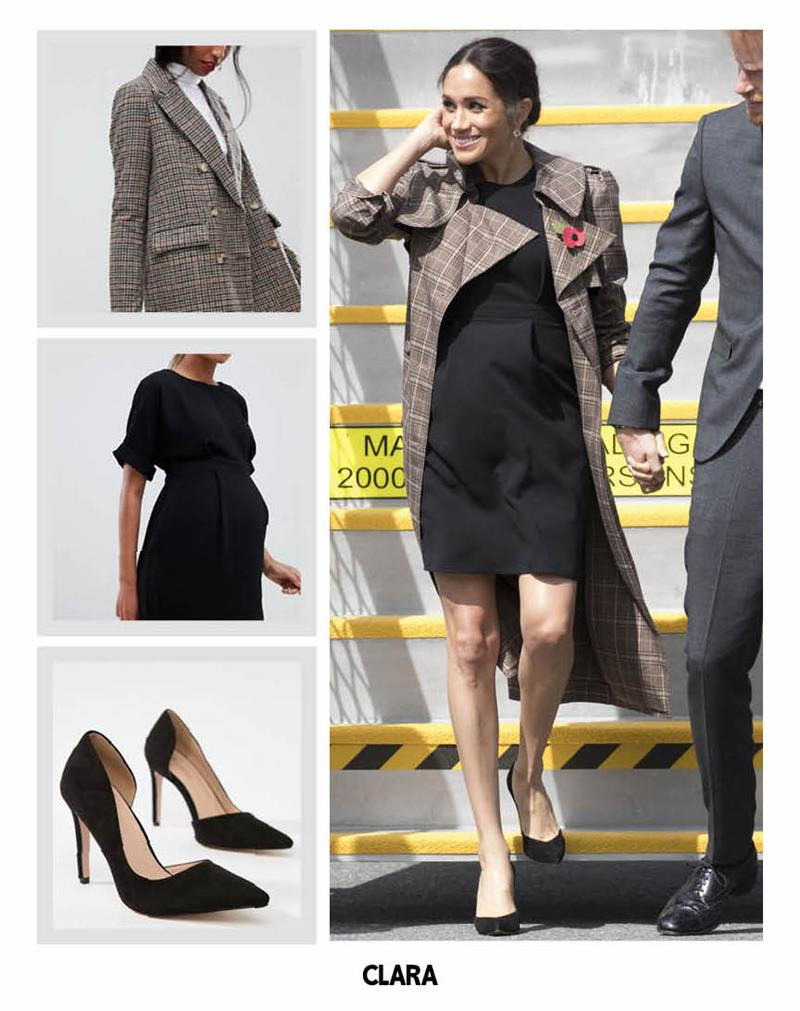 COPIA EL LOOK MEGHAN MARKLE ASOS MATERNITY _
