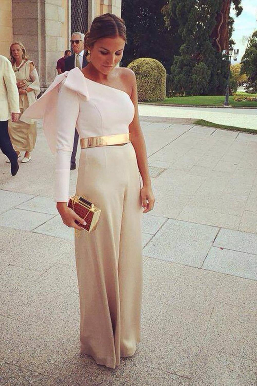 32b2bb606 Cómo llevar los pantalones palazzo a una boda y ser la invitada más ...