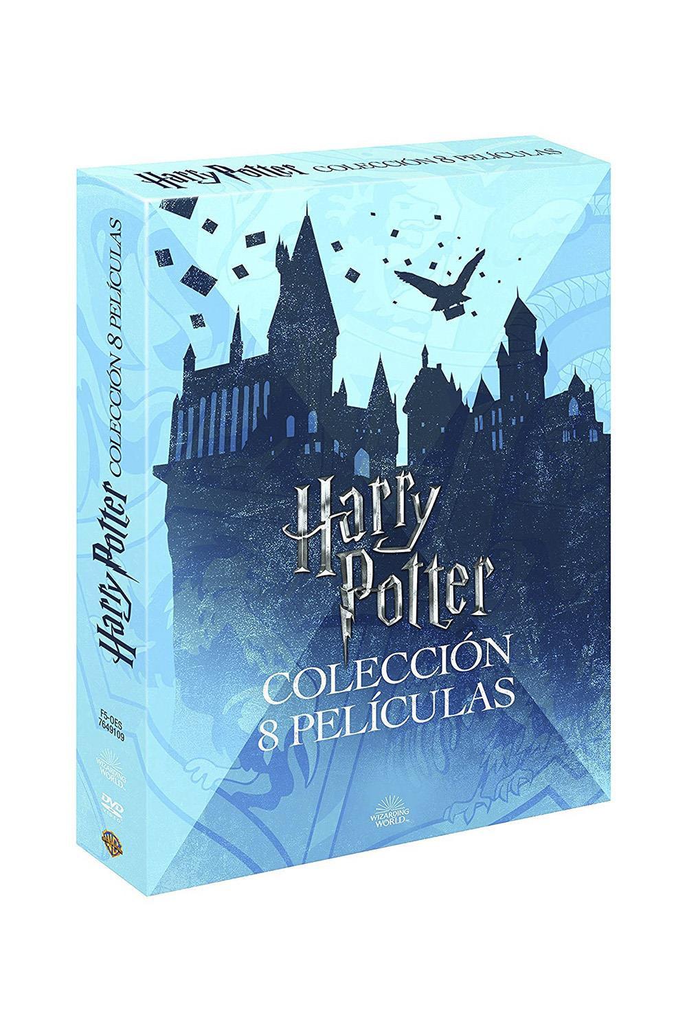 coleccion-peliculas-harrypotter-amazon. Para la friki de Harry Potter