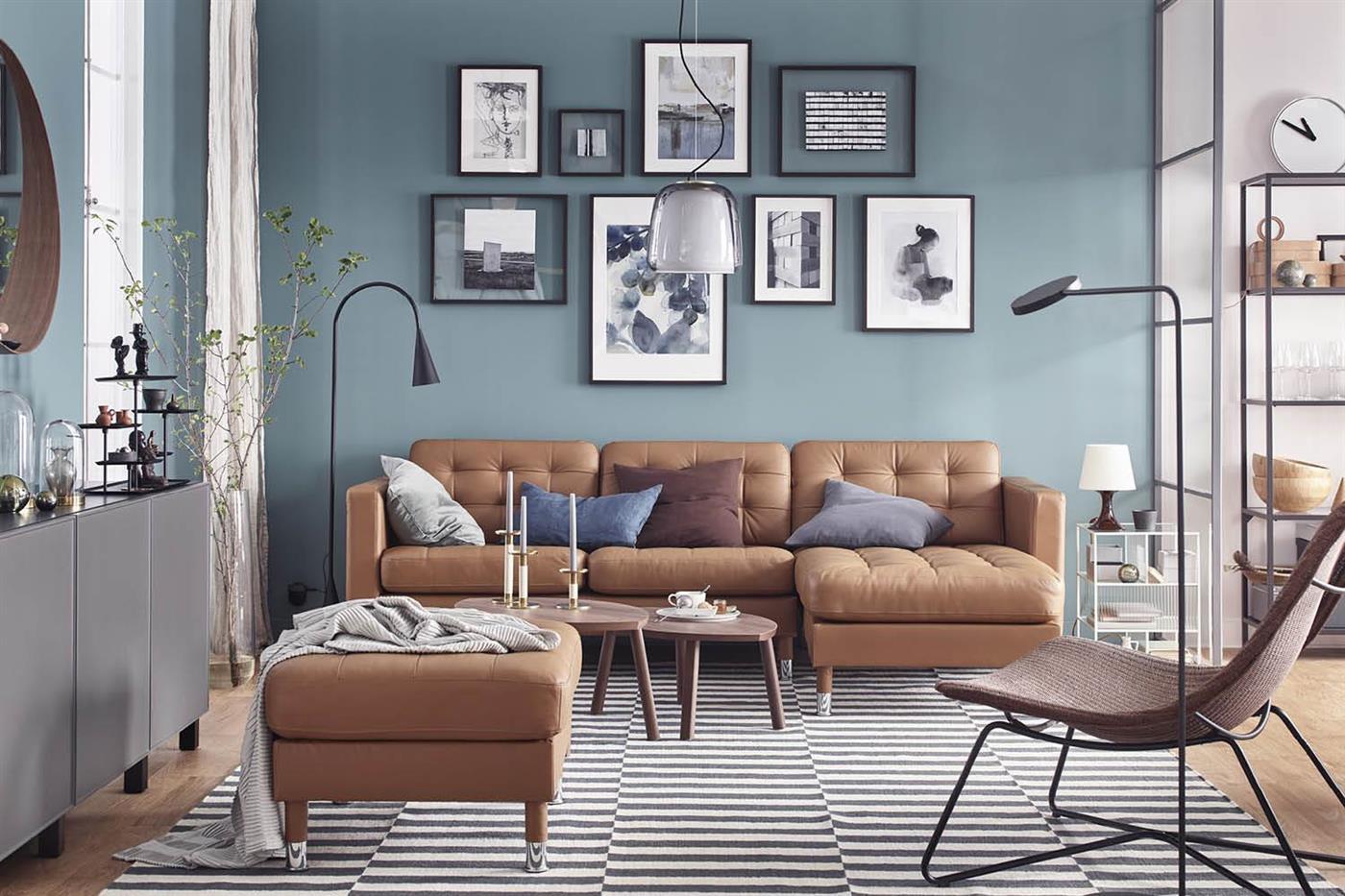 7 salones de ikea muy bonitos para renovar tu casa - Ideas salones ikea ...