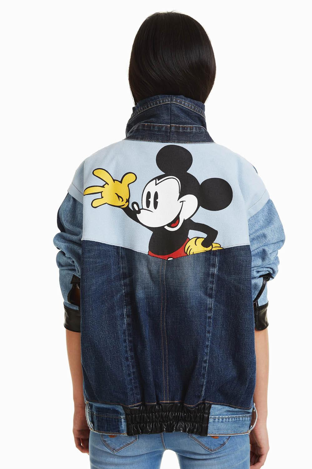 chaqueta the iconic mickey mouse desigual. Para los fans de Mickey Mouse