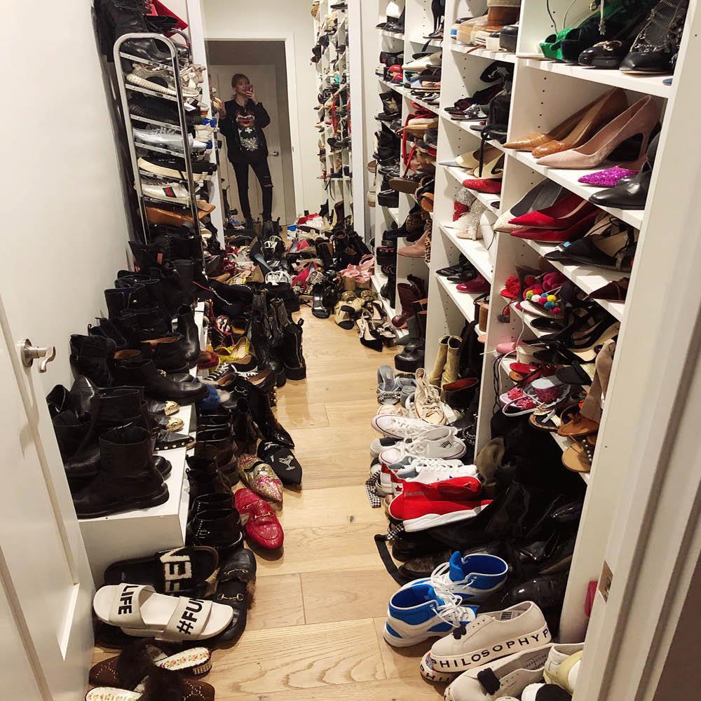 Si tu armario es un caos necesitas este organizador de - Armarios para zapatos ...