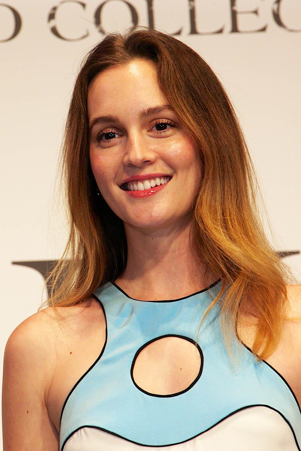 mechas californianas leighton meester. Mechas californianas para pelirrojas