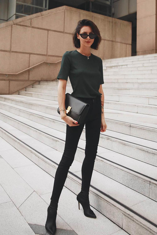 9e52db620 Cómo vestir con estilo minimalista sin resultar aburrida