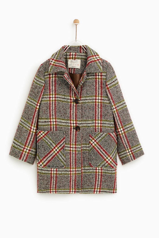 regalos para niños y niñas navidad 2018 2019 abrigo Zara, 45,95€. A la moda
