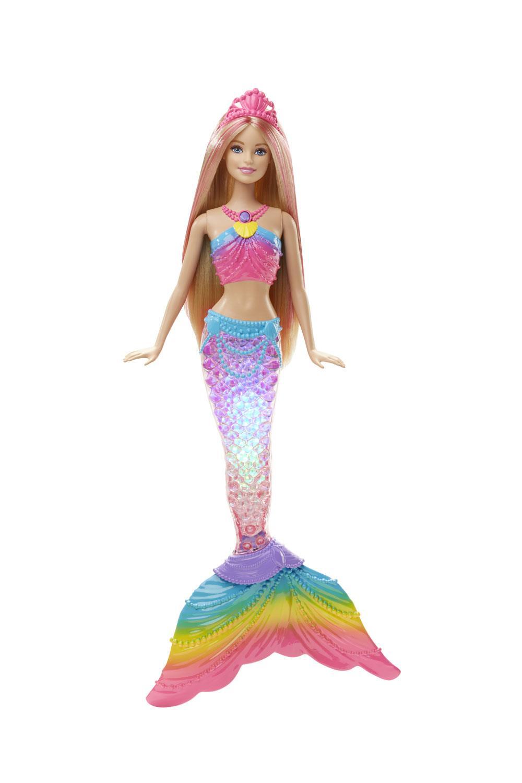 regalos para niños y niñas navidad 2018 2019 Barbie Sirena, Mattel, 21,99€. Barbie sirena