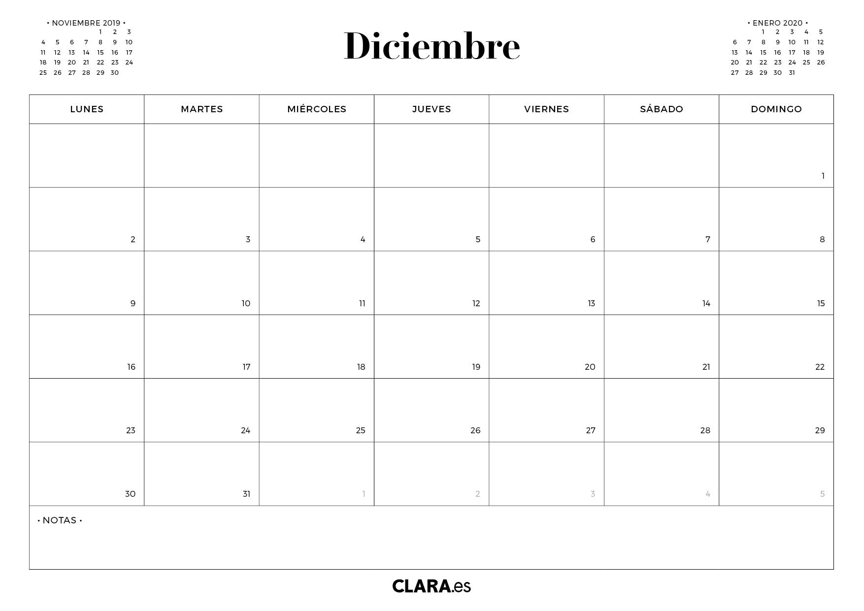 Calendario Chile 2020.Calendario 2019 Para Imprimir Gratis En Pdf Y Jpg