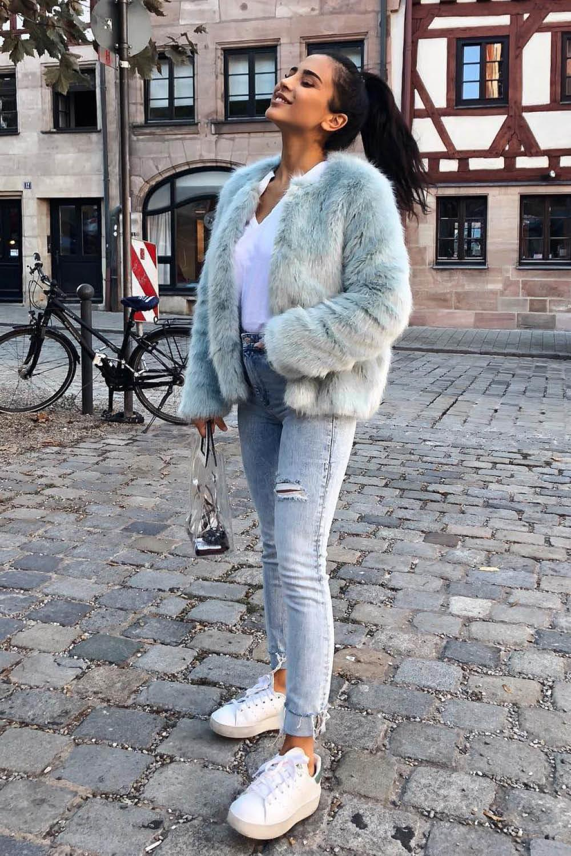 c5d1383b9 Looks con abrigos de pelo para ser la más estilosa