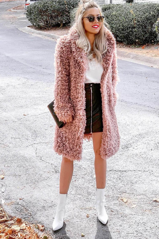 ef08a75a Looks con abrigos de pelo para ser la más estilosa