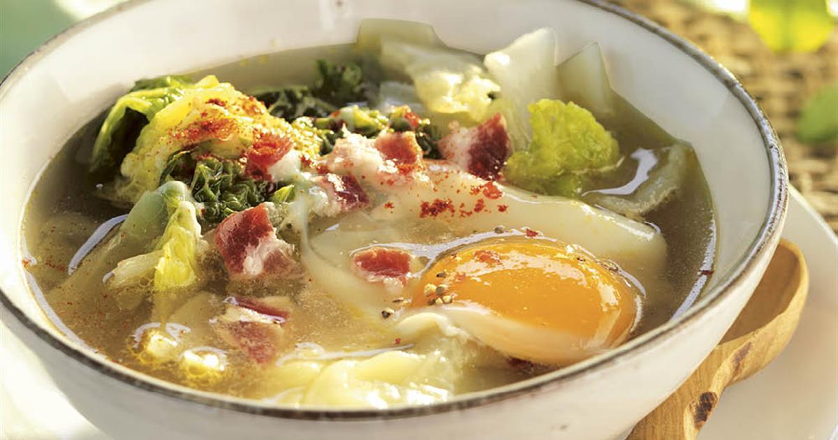 Sopa verde para adelgazar