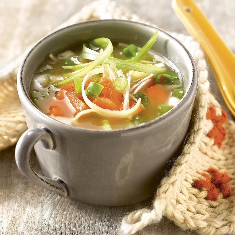 Como hacer un caldo de verduras para dieta