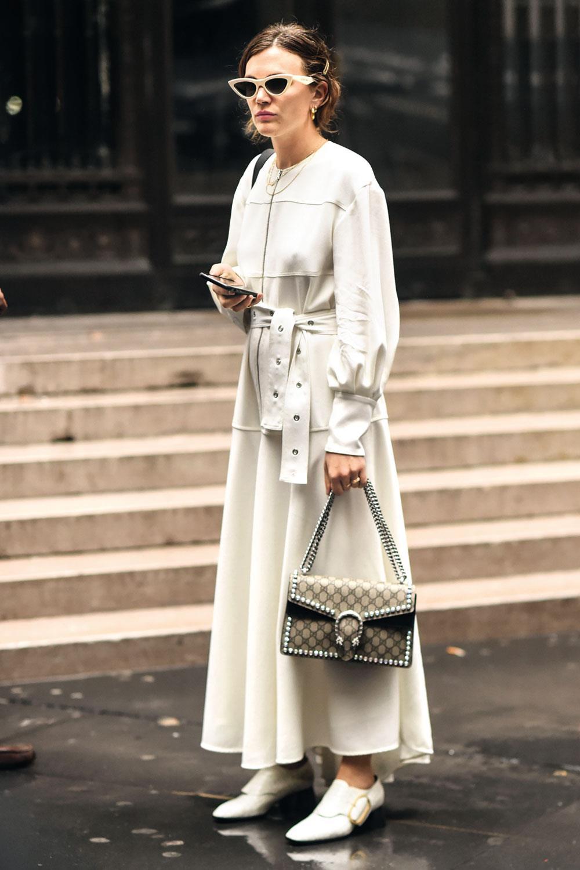 a7673bdcb vestidos mujer invierno otoño invierno 2018 primavera verano 2019  streetstyle. Blancos