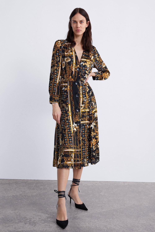 Vestidos zara verano 2019 mujer