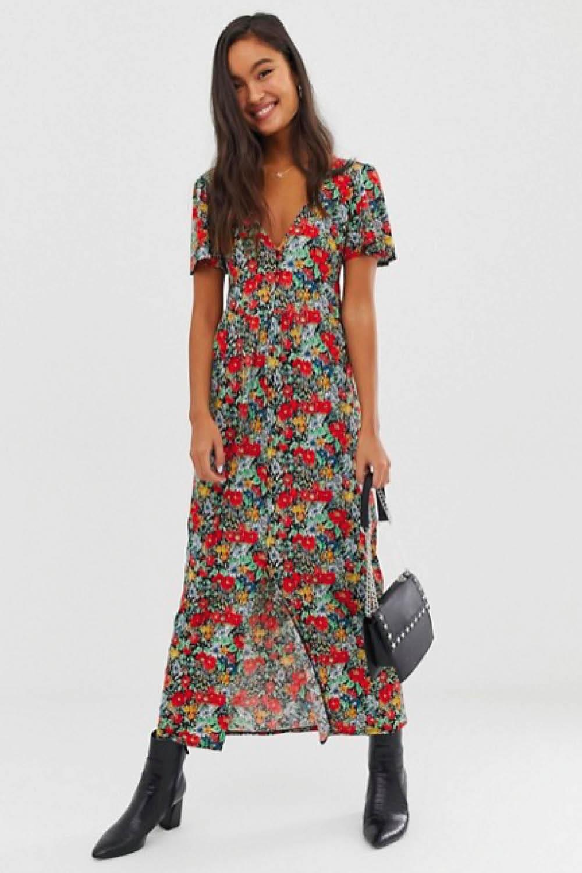 Vestidos largos estampados verano 2019