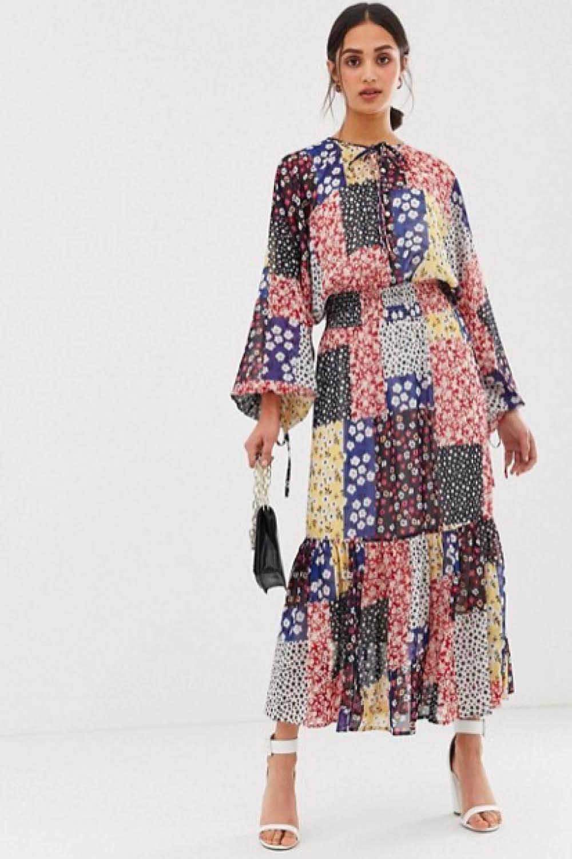 Vestidos largos estampados primavera 2019