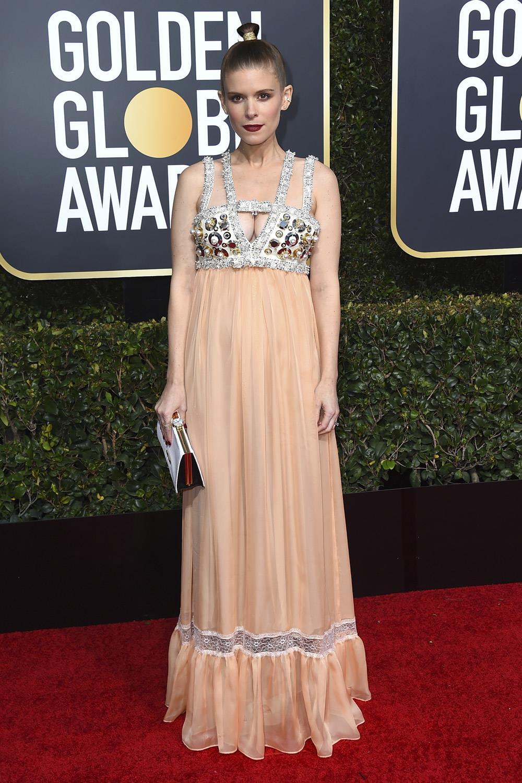 2f6cdd85a peor vestidas globos de oro 2019 Kate Mara. Kate Mara