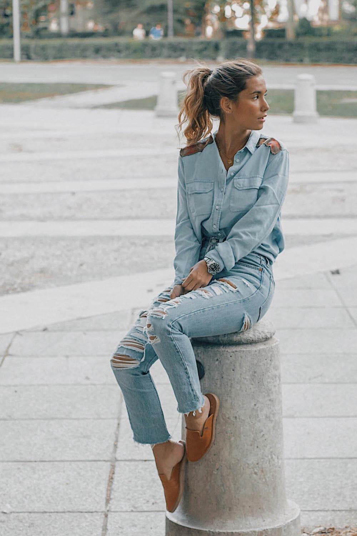 Guia Para Llevar Con Estilo Pantalones Rotos Esta Primavera 2019