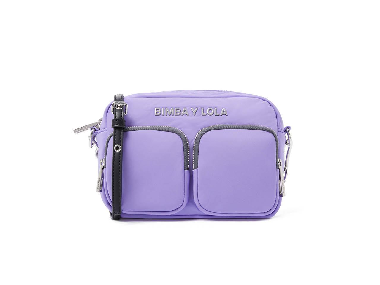 0cacf81a71fcd los bolsos mas bonitos y rebajados de bimba y lola doble bolsillo lila 52€.