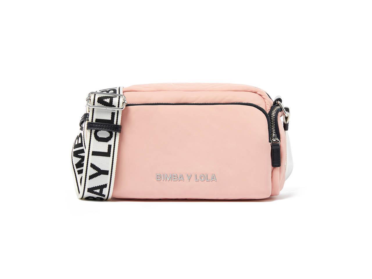 54f8f5cc619eb los bolsos mas bonitos y rebajados de bimba y lola rosa 80€. Rosa pastel