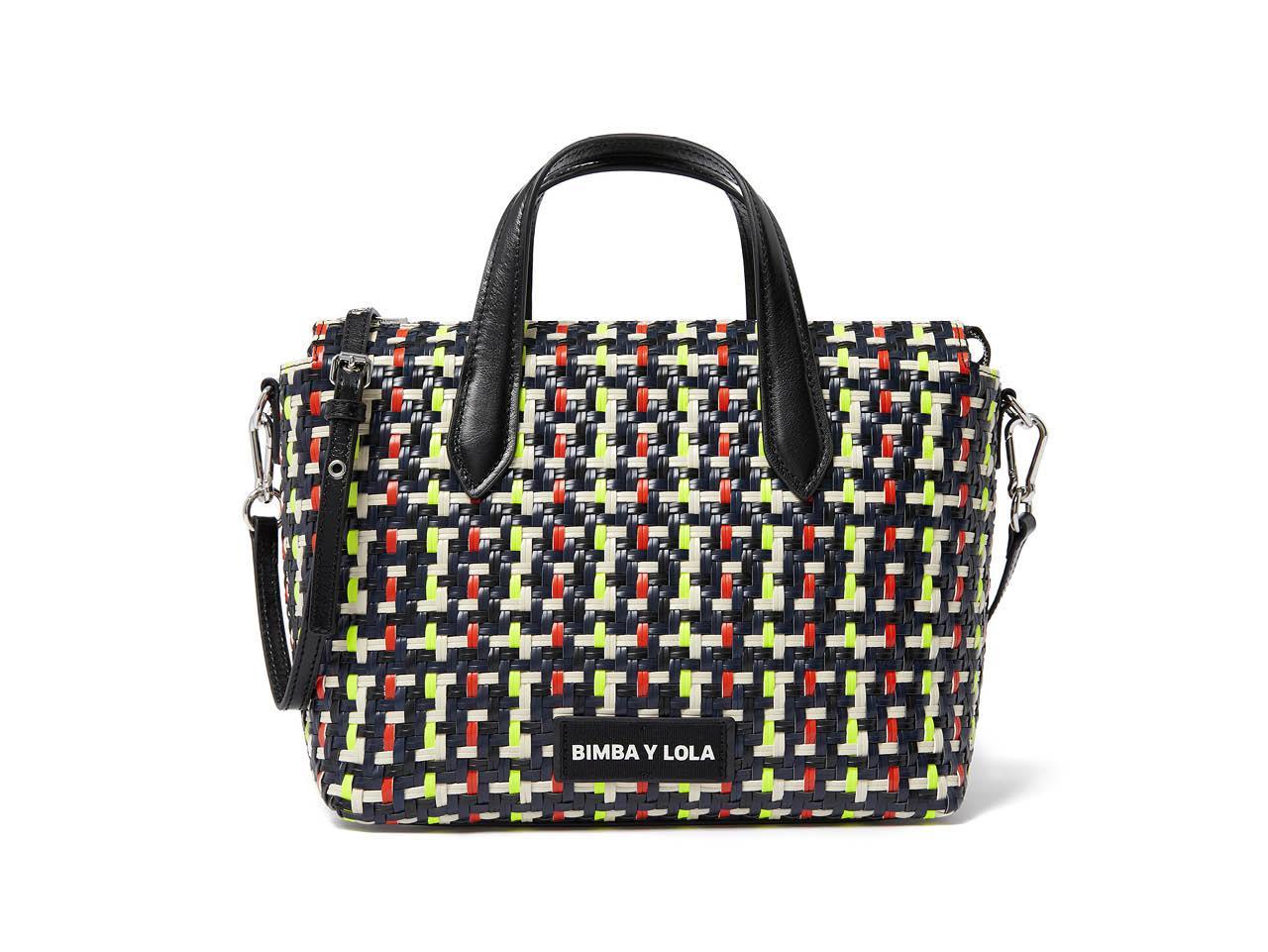 8049b41cd02 los bolsos mas bonitos y rebajados de bimba y lola shopper 103€. Shopper  trenzado