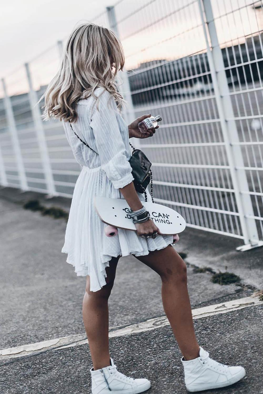 zapatillas nike blancas mujer altas