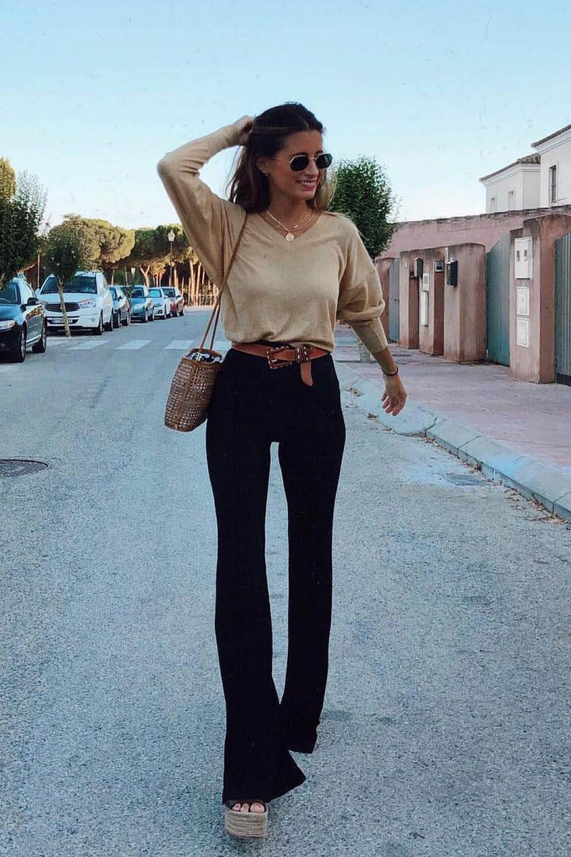 Como Combinar Un Pantalon Negro 15 Looks Que Te Solucionan La Vida