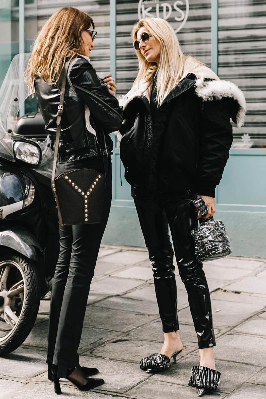 d3ade70a7c como combinar un pantalon negro. Aprende a combinar tu pantalón negro con  estilo