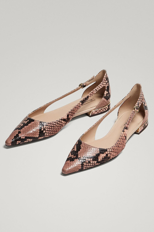 Nueva Primavera de 2017 Mujer Zapatos Zara Botines camel
