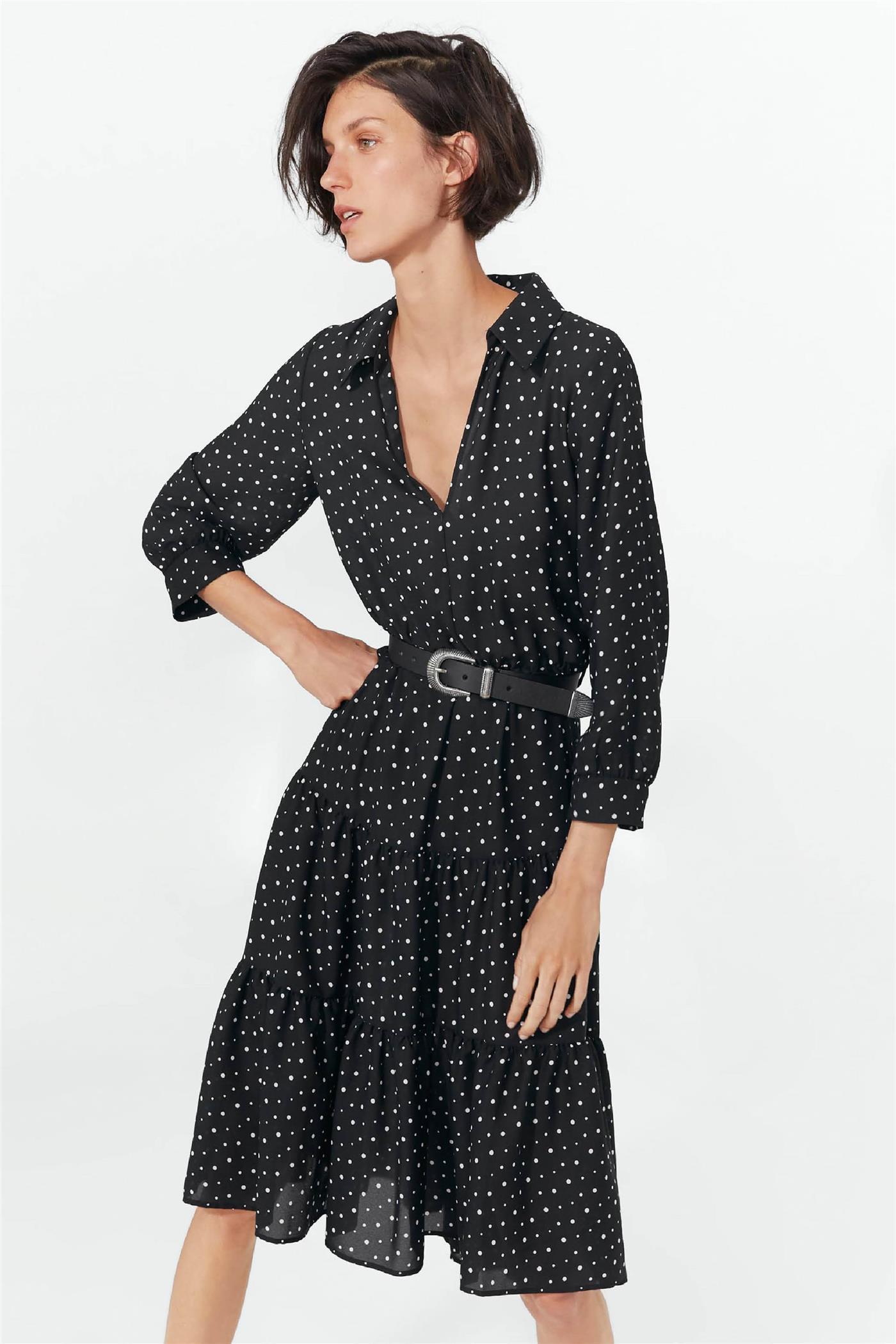 Vestidos lunares verano 2019