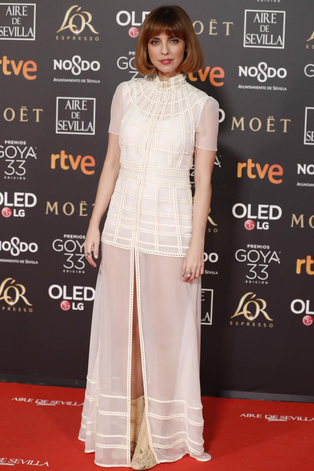 GOYA 2019 Leticia Dolera. Retro chic