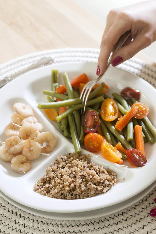 Comer verduras te ayuda a bajar de peso