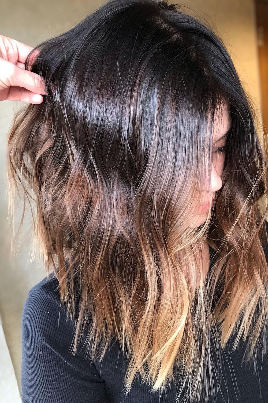 Colores de cabello para morenas pelo corto