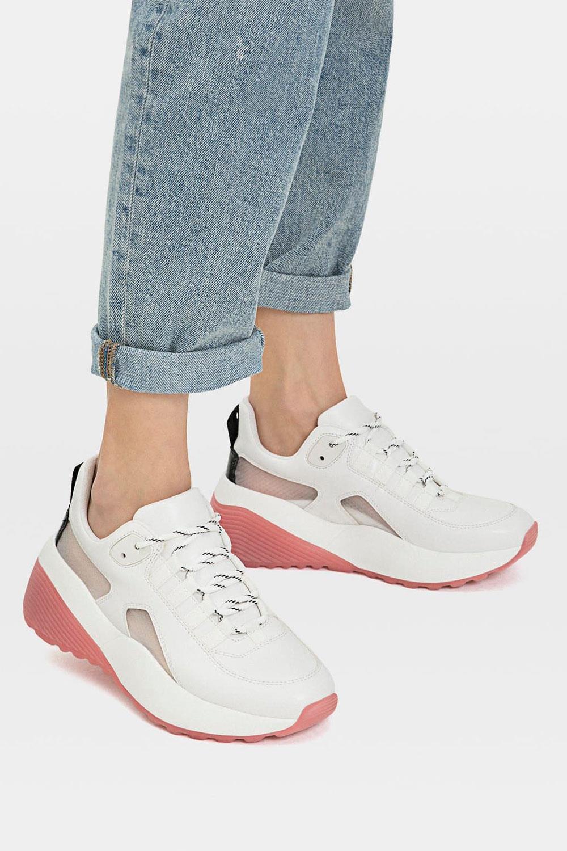 de mujer Zapatillas primavera plataforma con para gY6bf7yv