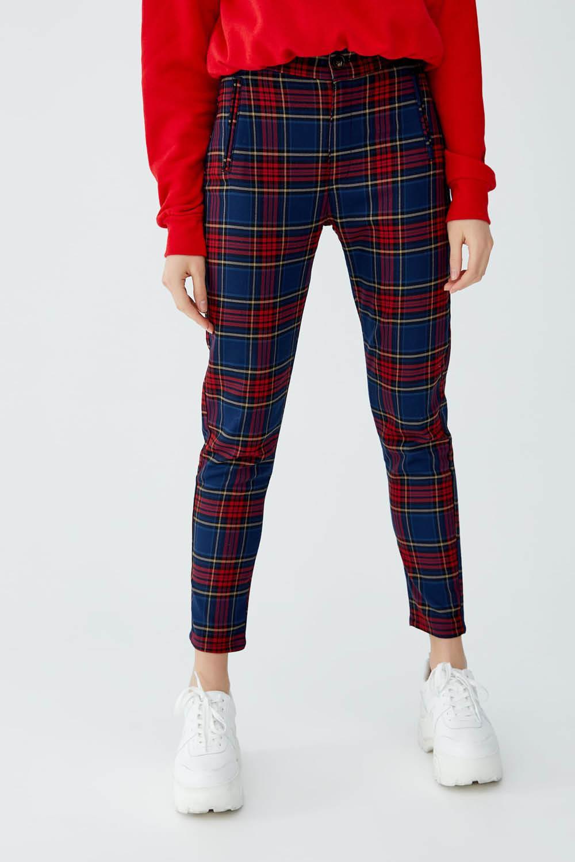 El Pantalon De Cuadros Te Hace Tipazo Y Queda Bien Con Zapatillas