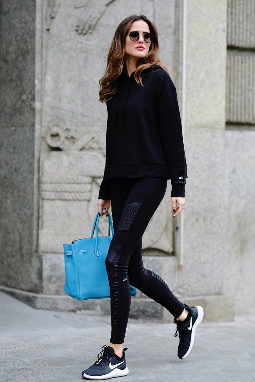 nike mujer zapatillas casual negra