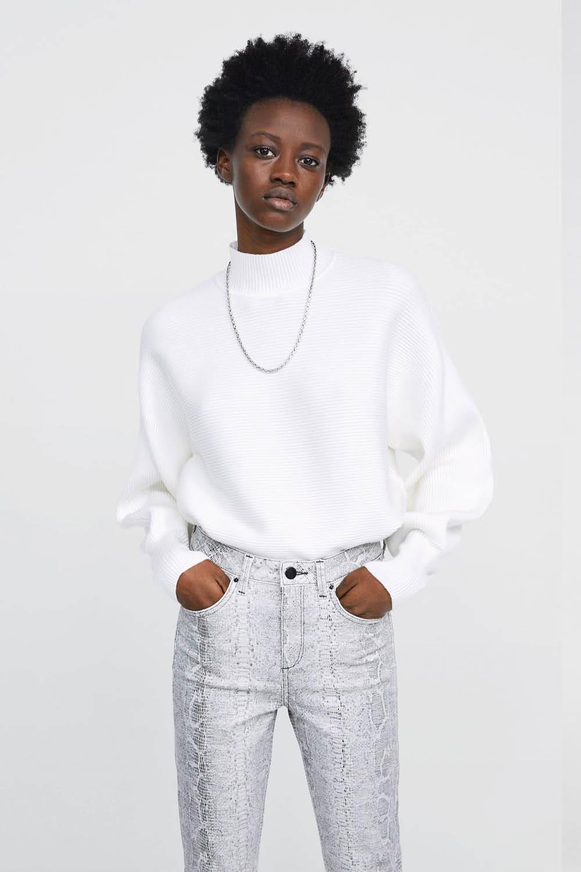 pantalones zara talla 46