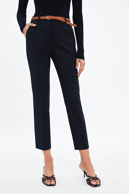 En Zara Tienen Pantalones De Tallas Grandes 44 Y 46 Y Son Asi De Bonitos