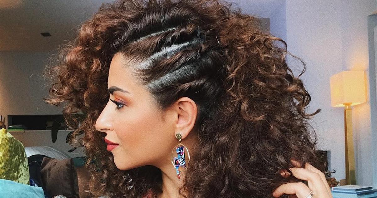 Creativo peinados hacia un lado Imagen de ideas de color de pelo - Los Semirecogidos De Lado Mas Bonitos Que Hemos Visto En ...