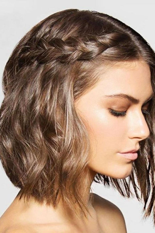 Semirecogidos Pelo Corto Los Peinados Más Bonitos De La Primavera