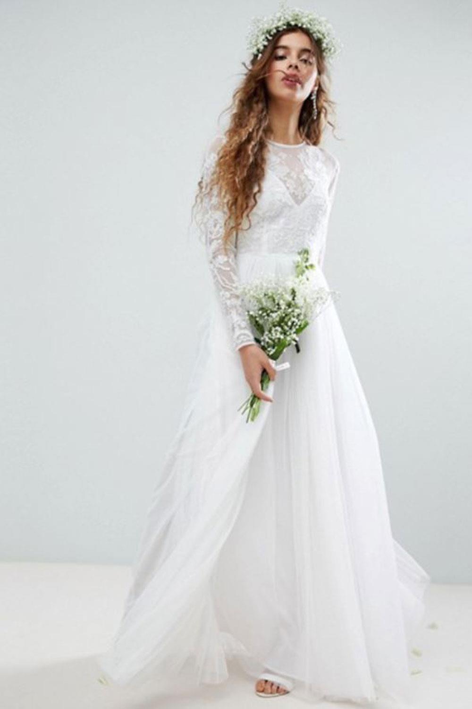 e06b3d3e6 vestidos de novia baratos asos Asos Edition