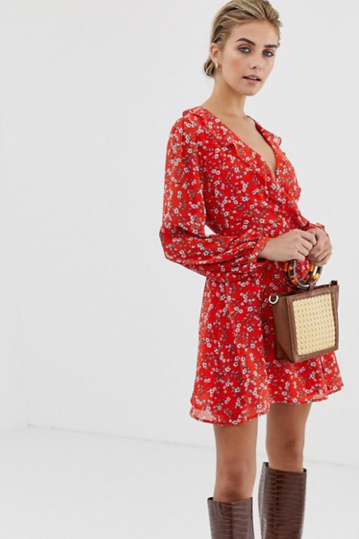 c52815e676 Elige el vestido de flores más bonito para primavera