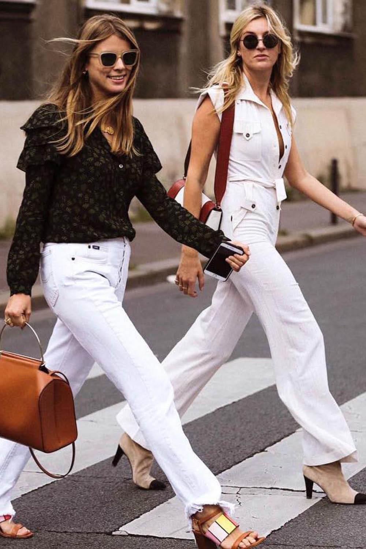 9106d960b4 como llevar el pantalon blanco camillecharriere. Los pantalones que más  estilizan NO son negros