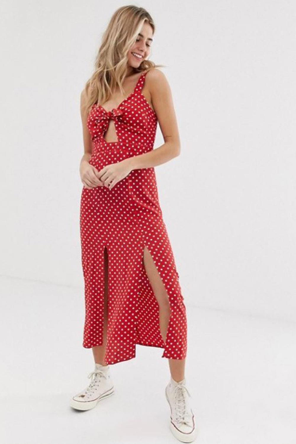 vestidos invitada Nobody's Child en Asos, 41,99€. Casual