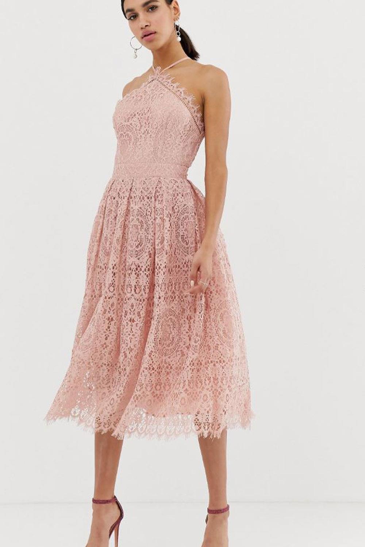 Se usa vestido largo para boda de dia
