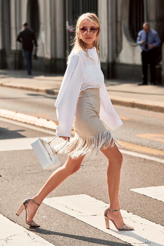 f0efbb55da trucos para alargar las piernas faldas con movimiento. Faldas que se mueven  cuando caminas