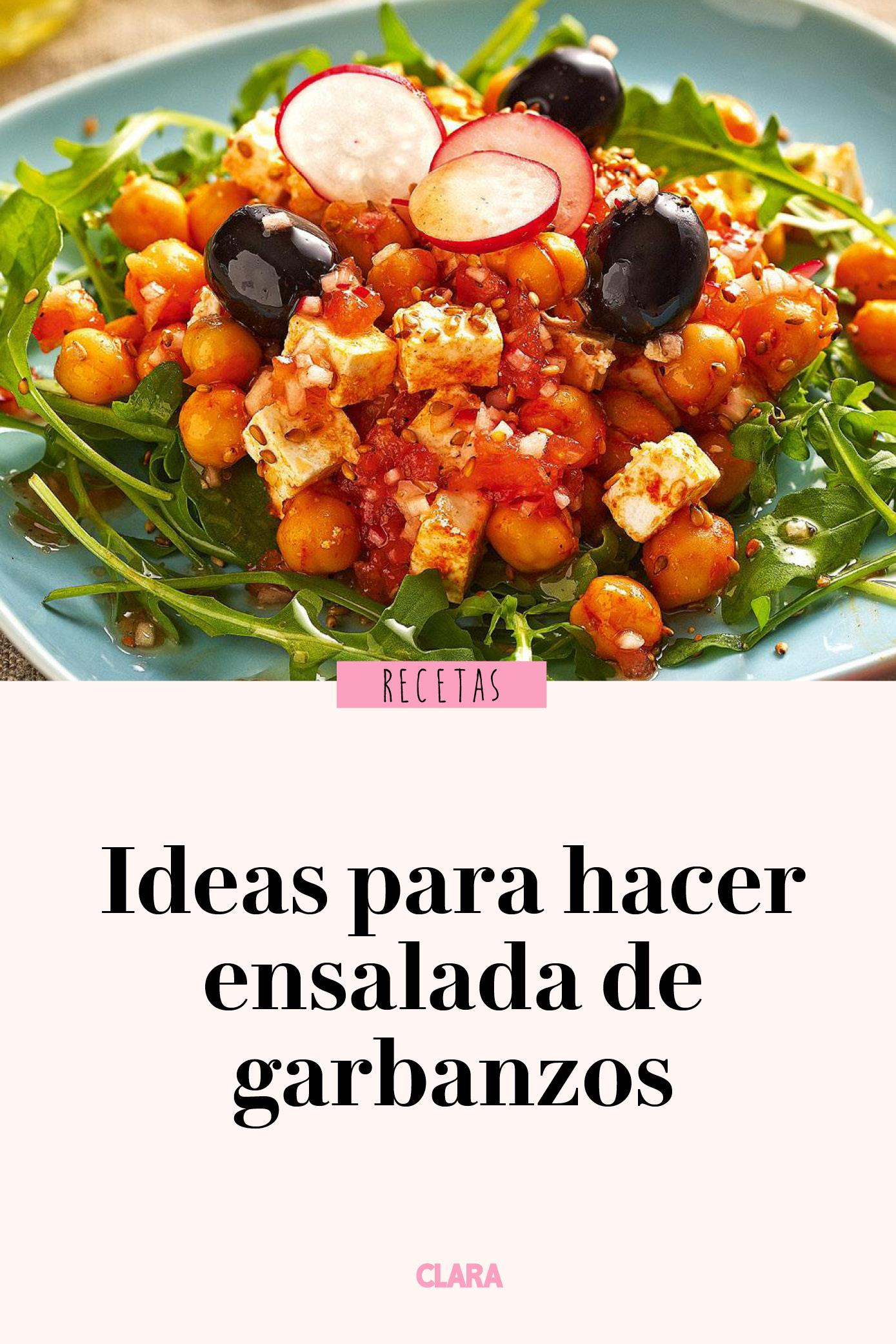 11 Ideas Para Hacer Ensalada De Garbanzos