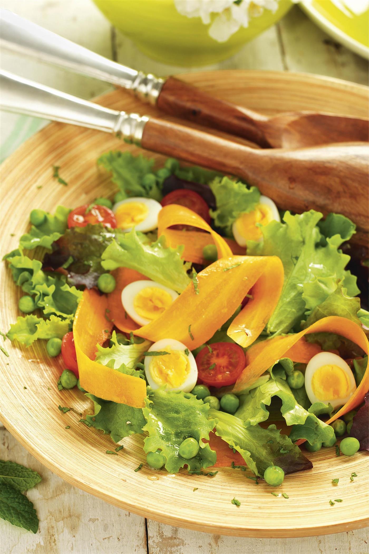 como hacer ensaladas para bajar de peso rapido