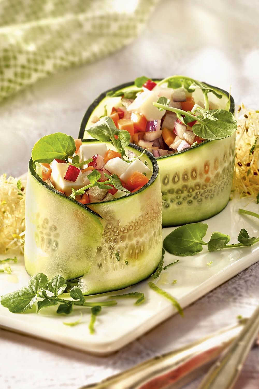 Recetas con pepino deliciosas y refrescantes