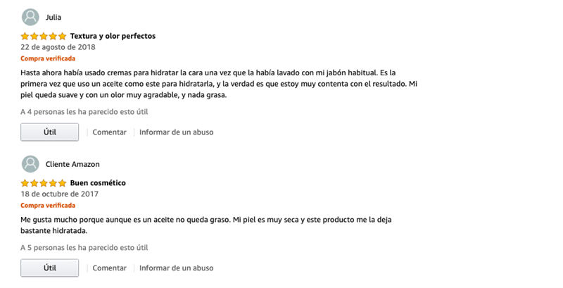nuxe aceite opiniones